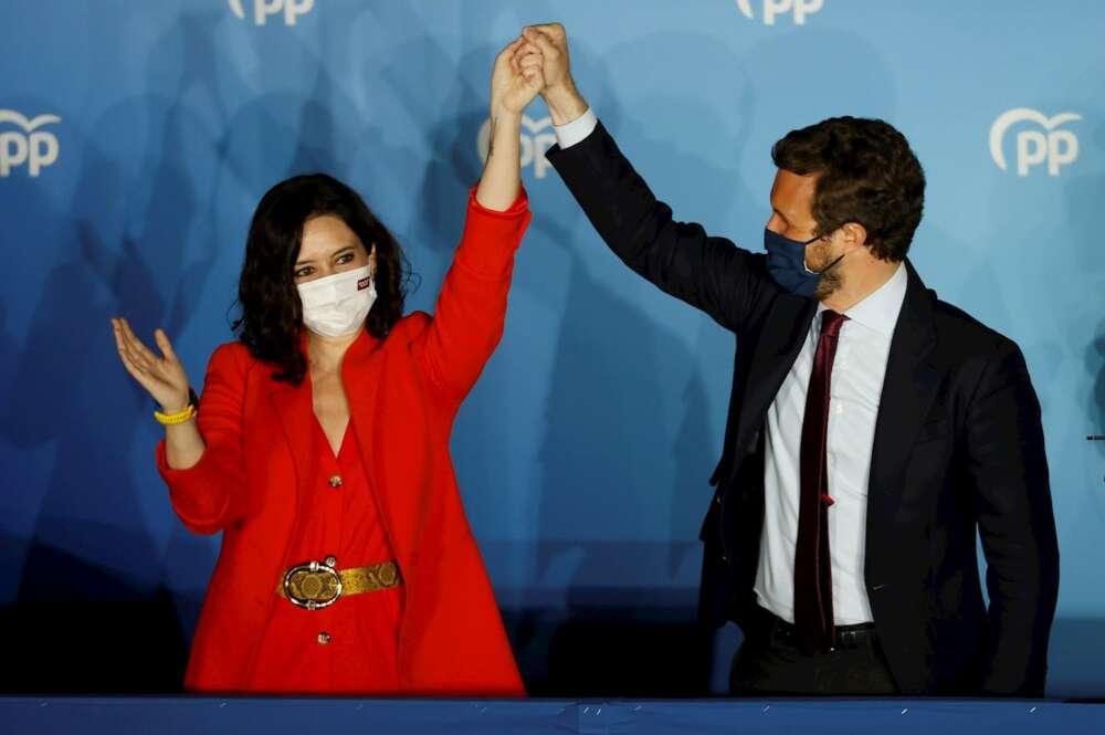 Ayuso arrasa en España y gana la reelección en la presidencia de Madrid