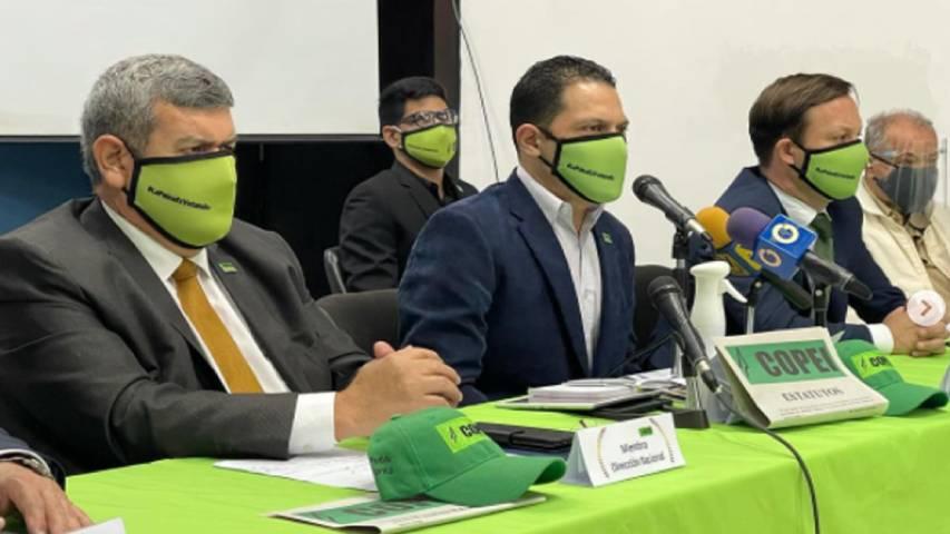 Copei anunció candidatos para diversas gobernaciones