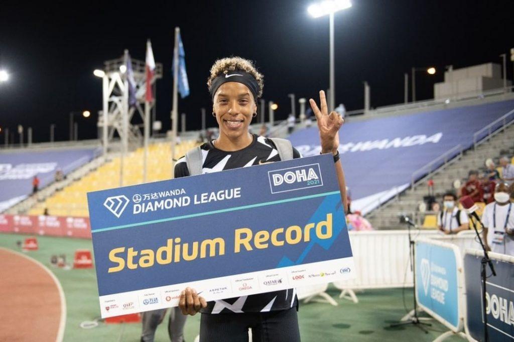 Yulimar Rojas reina en Doha y se queda con el récord de competencia