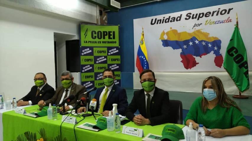 Copei pone a disposición su tarjeta para las próximas elecciones