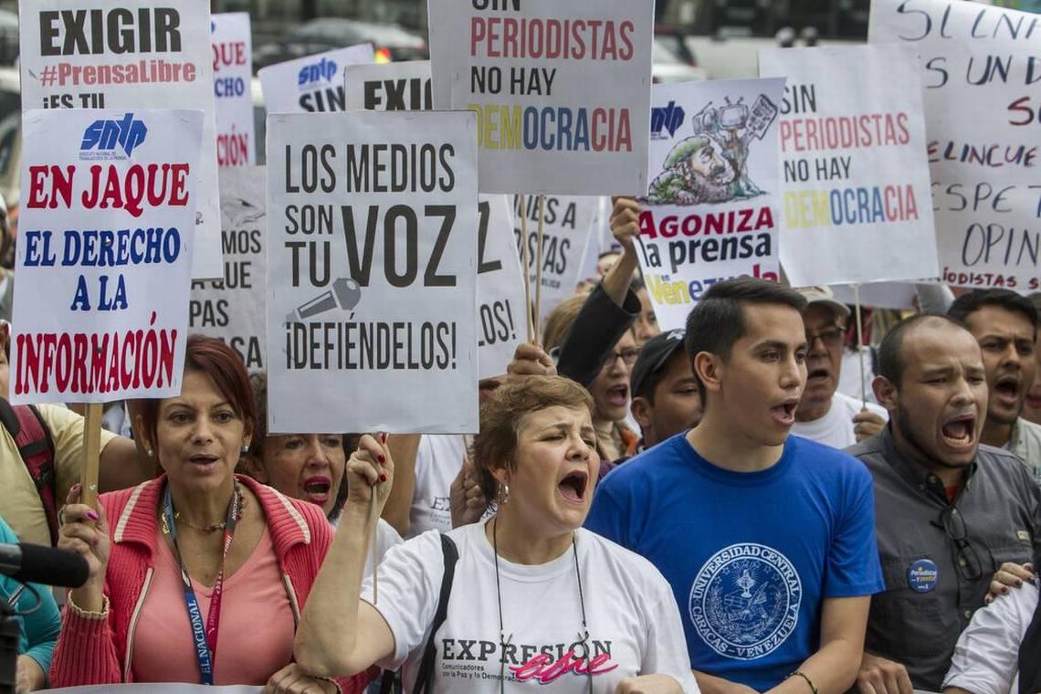 VOA: Cerco a la libertad de prensa en la red en Venezuela