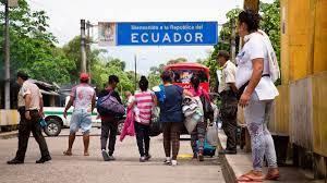 OIM: 96 % de los migrantes venezolanos ve a Ecuador como destino