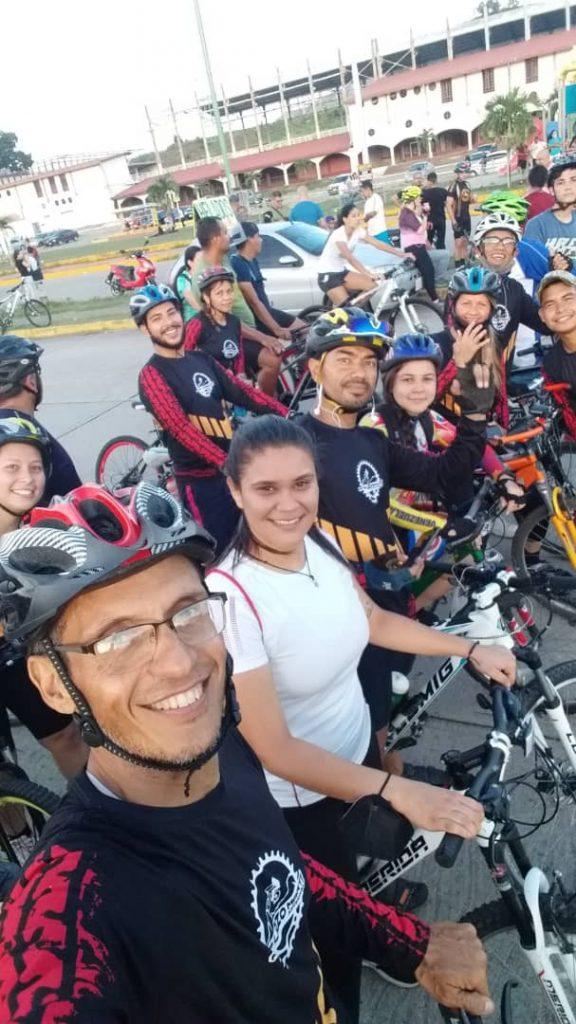 """Ciclistas de San Juan de los Morros Celebran """"Día Mundial de la Bicicleta"""""""