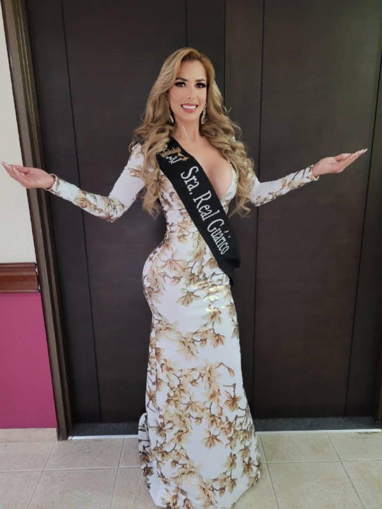 Brenda Betancourt, representante de Guárico en el Concurso Nacional de Belleza - Sra. Real Venezuela, buscará alzarse con la corona