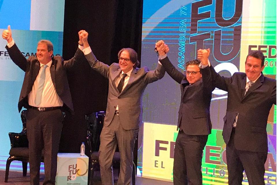 Carlos Fernández es el nuevo presidente de Fedecámaras