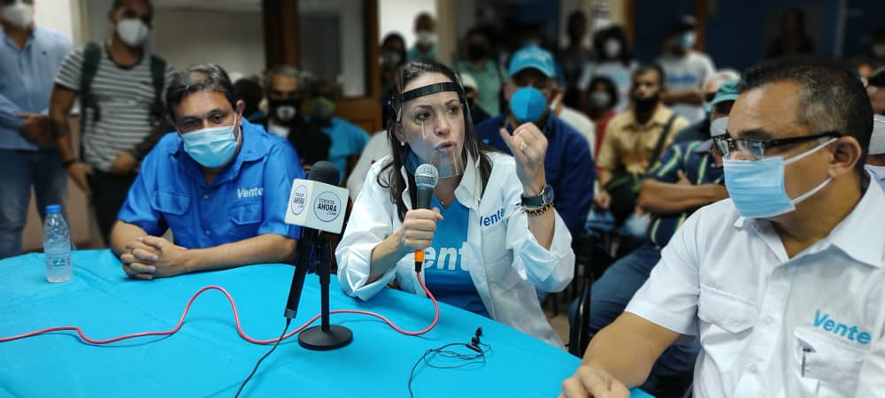 María Corina a la UE: Vean y digan la verdad, en Venezuela elige la mafia