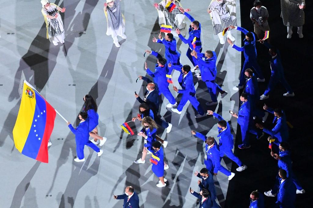 Venezuela ondeó el tricolor y va por una actuación inédita en Tokyo 2020
