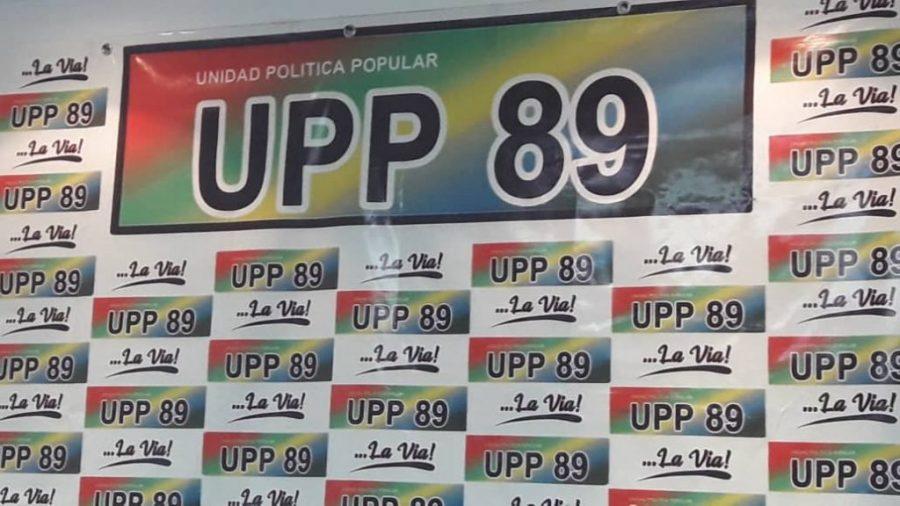 UPP89 se retira de la Alianza Democrática y reitera su apoyo a liderazgos independientes