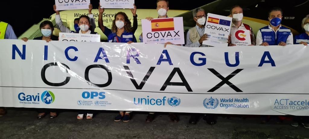 España completa envío de 7,5 millones de vacunas a Latinoamérica