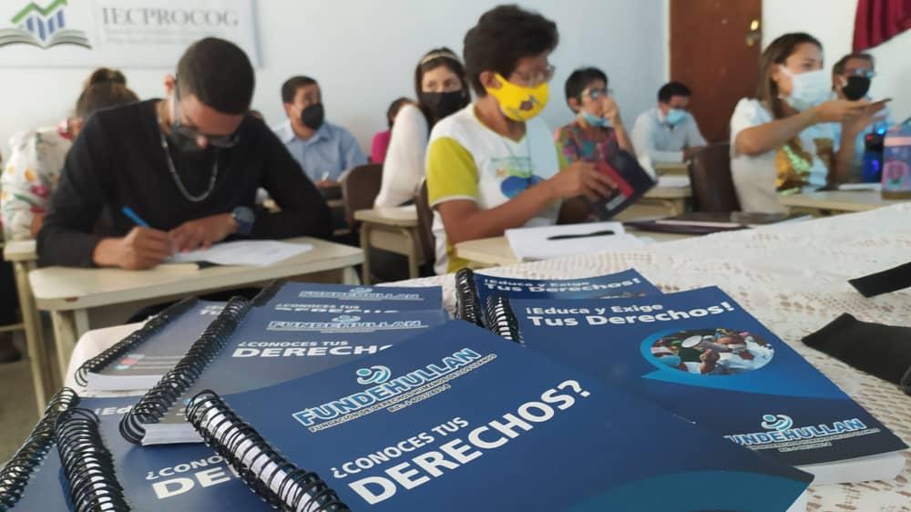 Fundehullan realizó con éxito curso para la defensa y promoción de los DDHH en Guárico