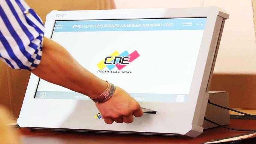 CNE finaliza tercera auditoría del software de máquinas de votación