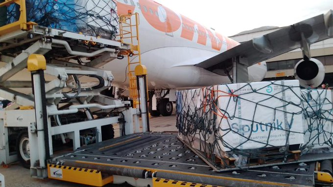 Parte un nuevo lote de Sputnik V desde Moscú hacia Caracas