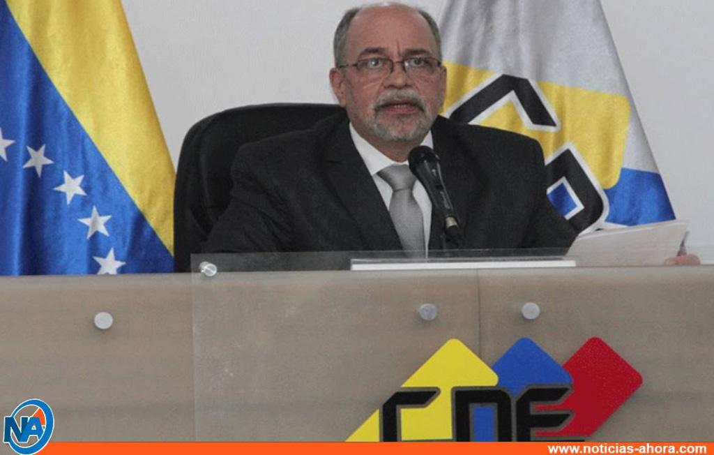 Presidente del CNE confirma que este sábado 4Sep cierra el lapso de postulaciones: No habrá otra prórroga