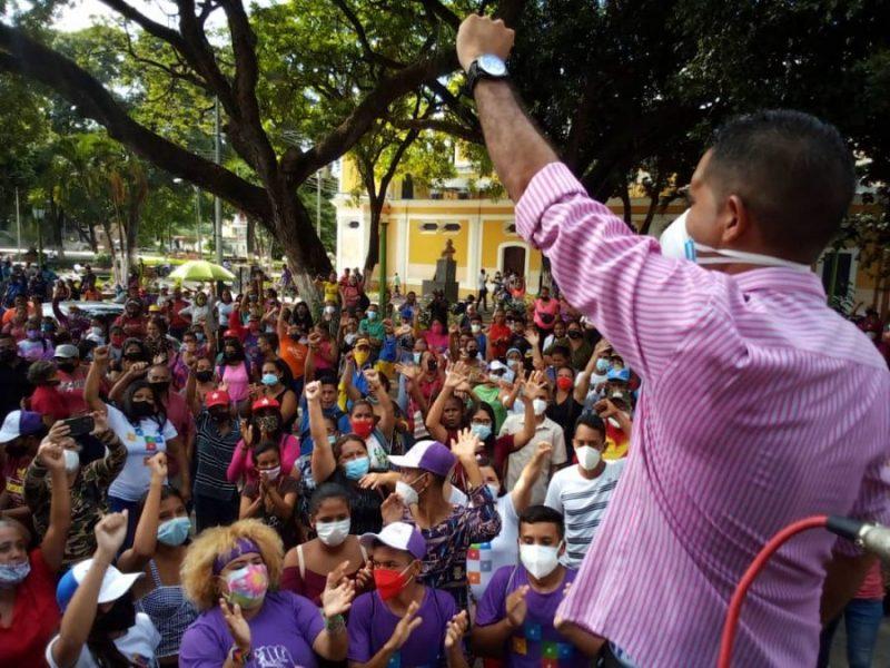Christopher Constant cristalizará desde la Alcaldía su sueño de construir el municipio capital que el pueblo merece