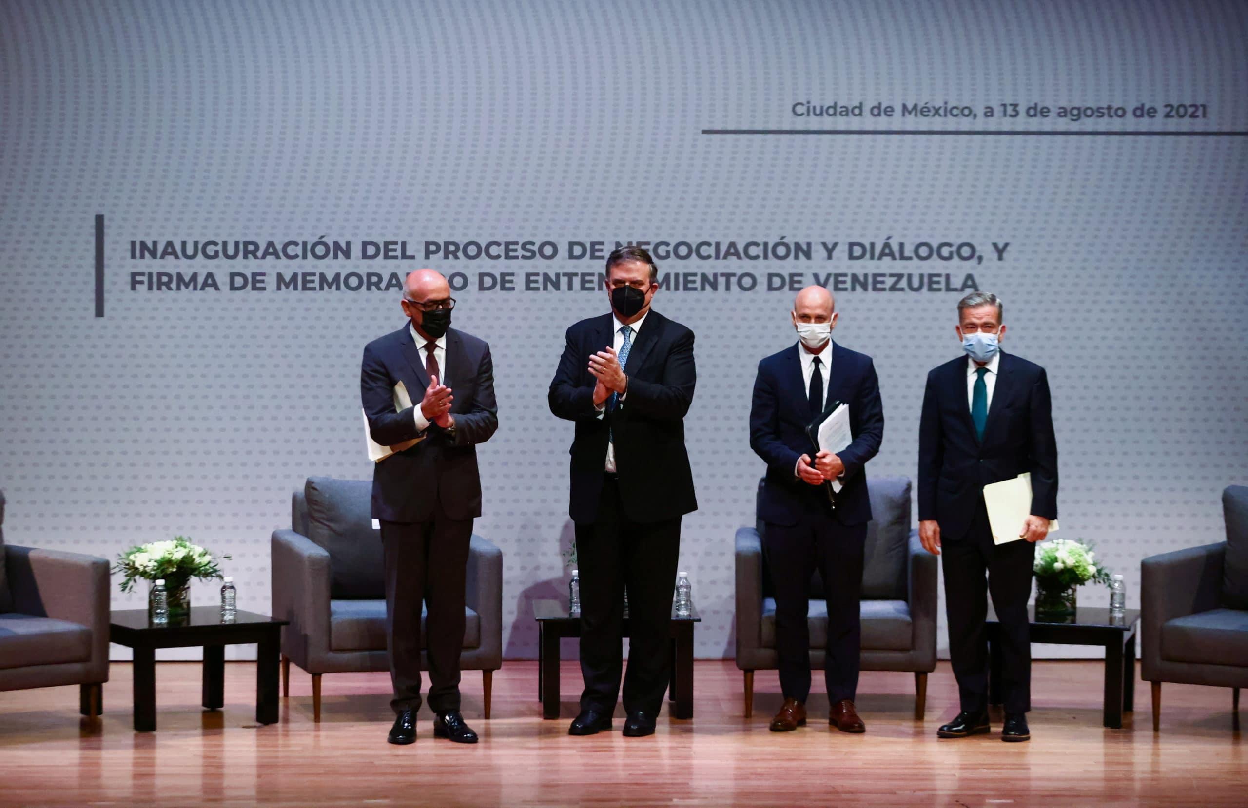 Diálogo en México avanza en dos acuerdos parciales conclusiones de la primera ronda
