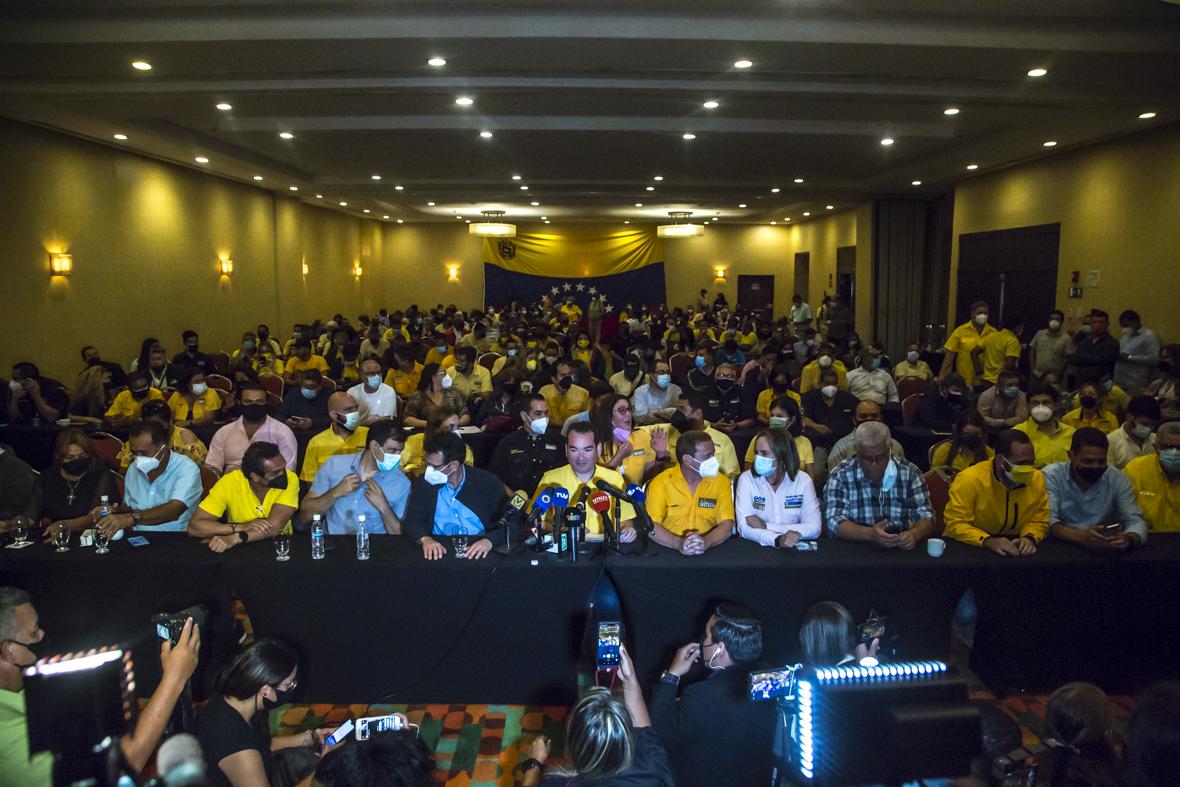 Primero Justicia se deslinda de Juan Guaidó en lo que se refiere a manejo de activos en el exterior
