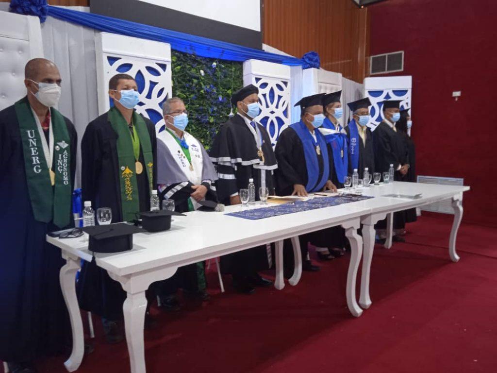 Unerg confirió títulos por Secretaría a 99 profesionales en el Área de Ingeniería
