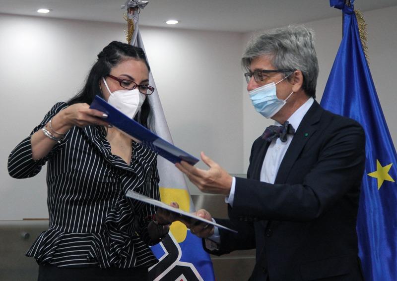 Jefe de misión reitera compromiso de UE con acuerdo firmado para comicios