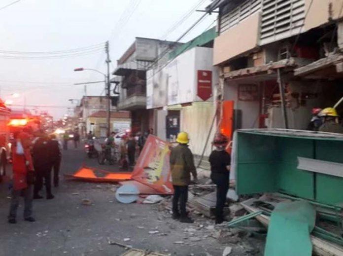 Dos heridos dejó explosión de bombona de gas en Maracay
